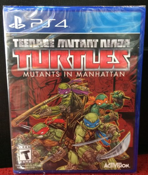PS4 Turtle Mutans in Manhattan game