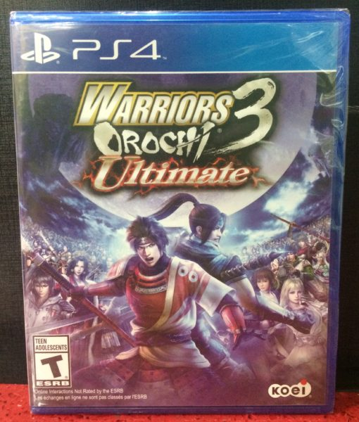 PS4 Warriors Orochi 3 Ultimate game