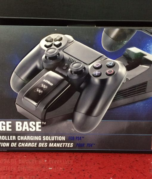 PS4 item Charge Base for 2 Controllers NYKO