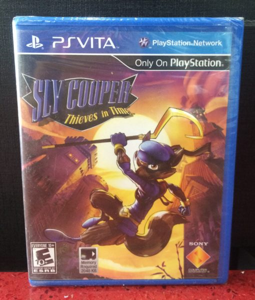 Ps Vita Sly Cooper Thive in Time game