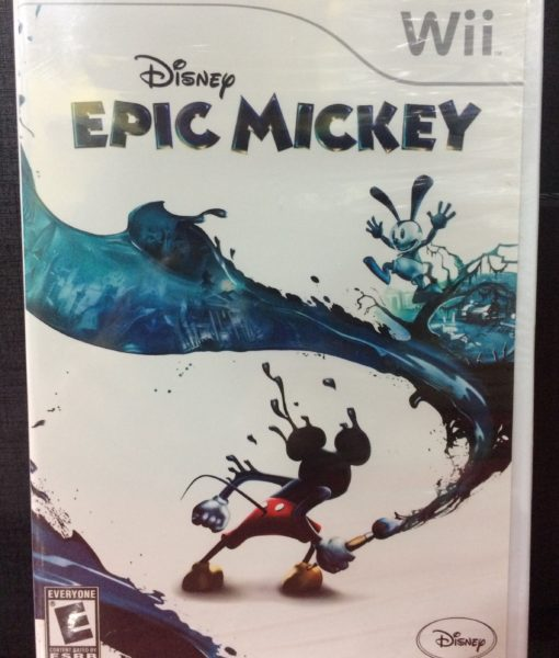 Wii Disney Epic Mickey game