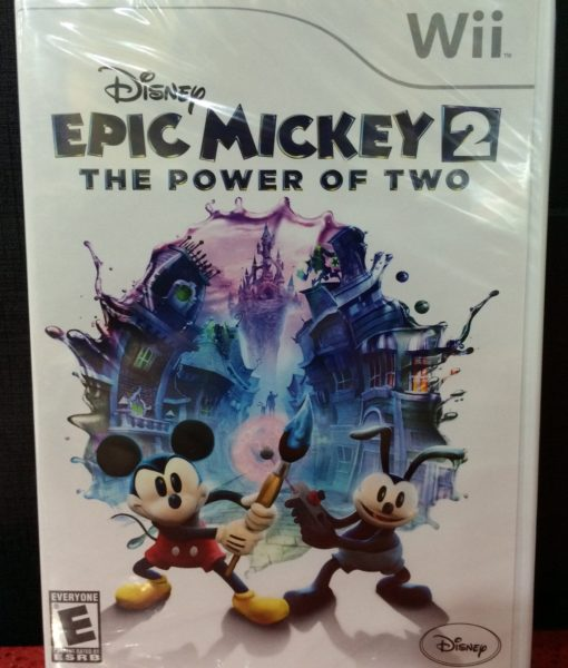 Wii Epic Mickey 2 The Power of Two game