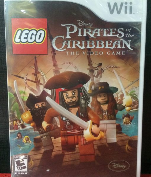 Wii LEGO Pirates Caribbean game
