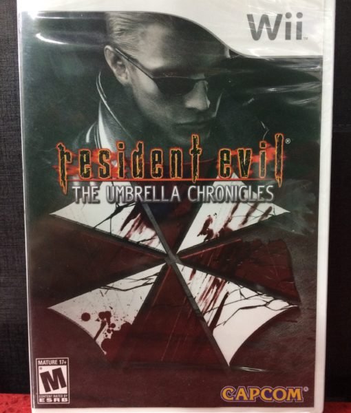 Wii Resident Evil Umbrella Chronicles game