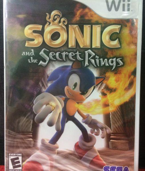 Wii Sonic Secret Rings game