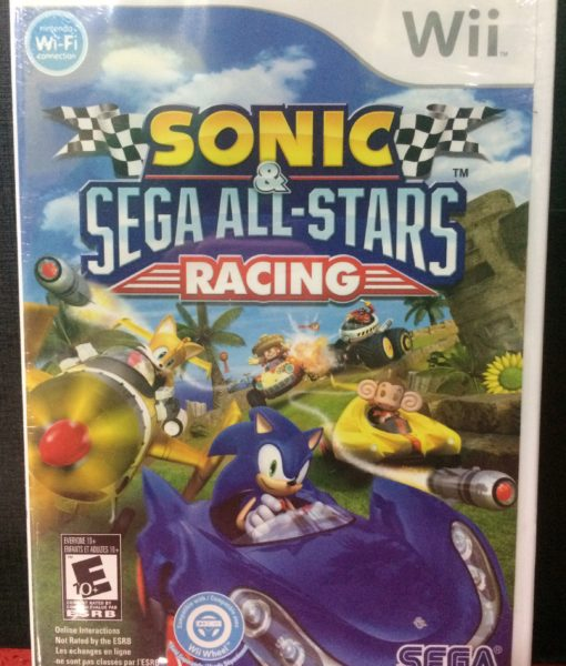 Wii Sonic Sega Racing game