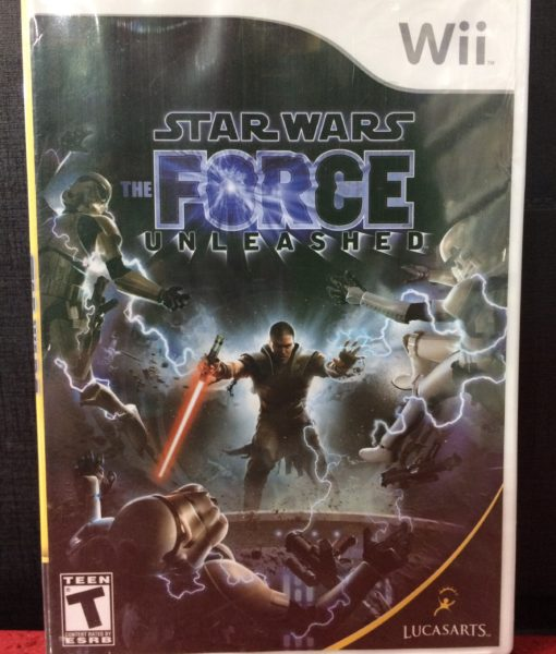 Wii Star Wars Force Unleashed game