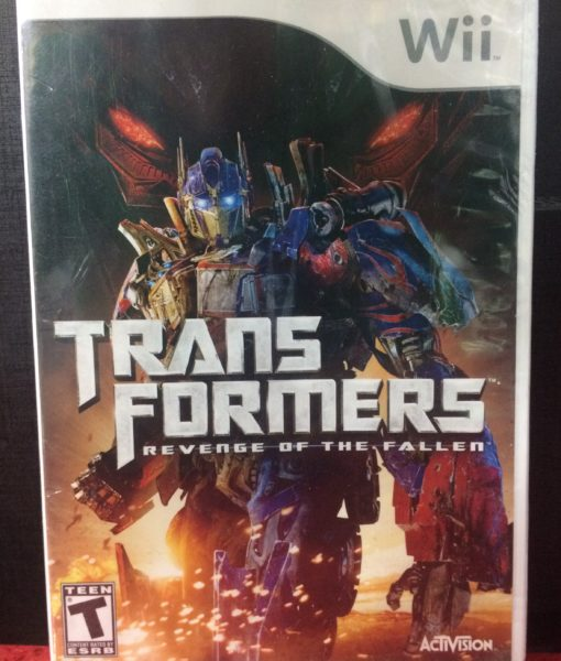 Wii TransFormers Revenge of the Fallen game