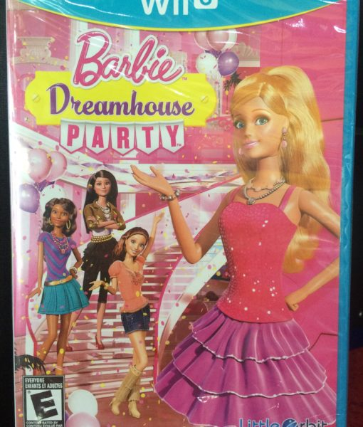 Wii U Barbie Dream House Party game