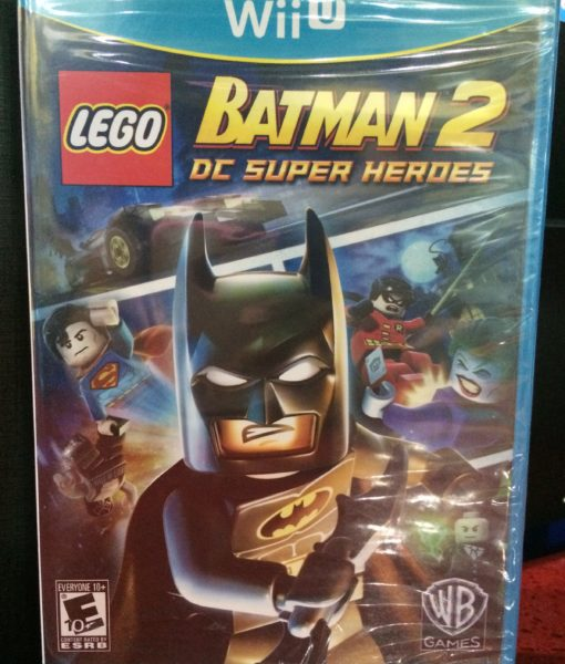 Wii U LEGO Batman 2 game