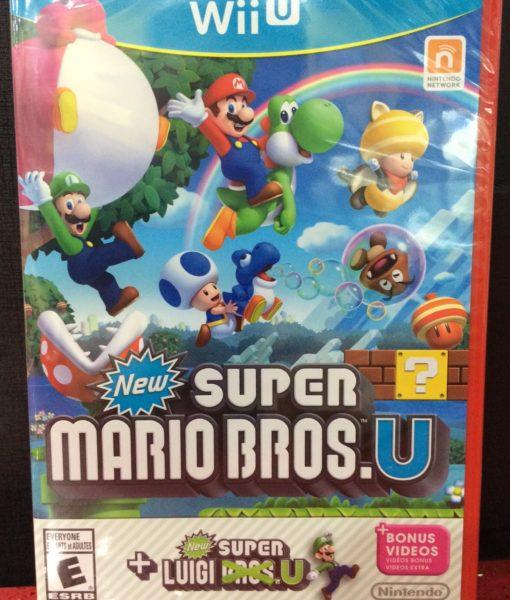 Wii U New Super Mario Bros + Luigi U game