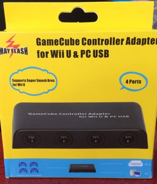Wii U item GameCube Controller Adapter 4port Mayflash