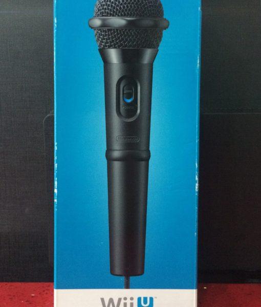 Wii U item Microphone
