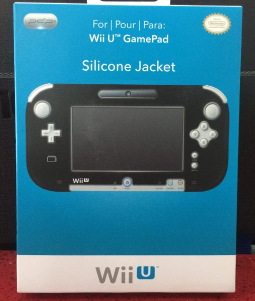 Wii U item Silicone Jacket for Gamepad Negro Pdp
