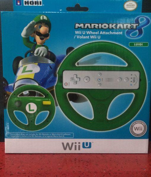 Wii U item Wheel Timon Luigi Verde Nintendo