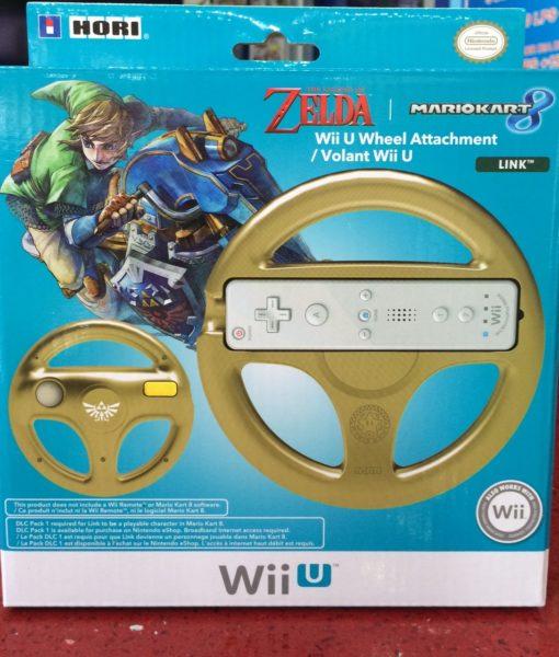 Wii U item Wheel Timon Zelda Dorado HORI