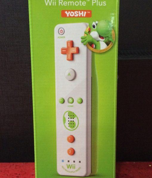 Wii U item Wii item Remote Plus Yoshi Verde Ninten