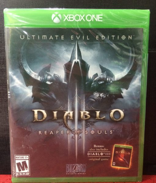 Xone Diablo III Reaper of Souls game