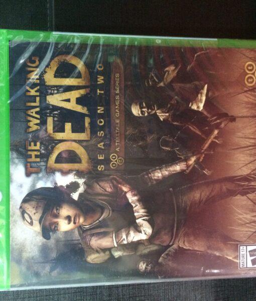Xone The Walking Dead Season Two game