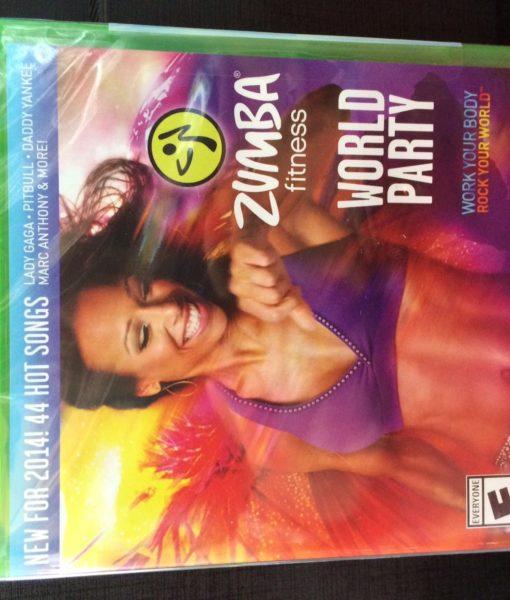 Xone Zumba Fitness World Party game