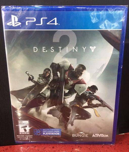 PS4 Destiny 2 game