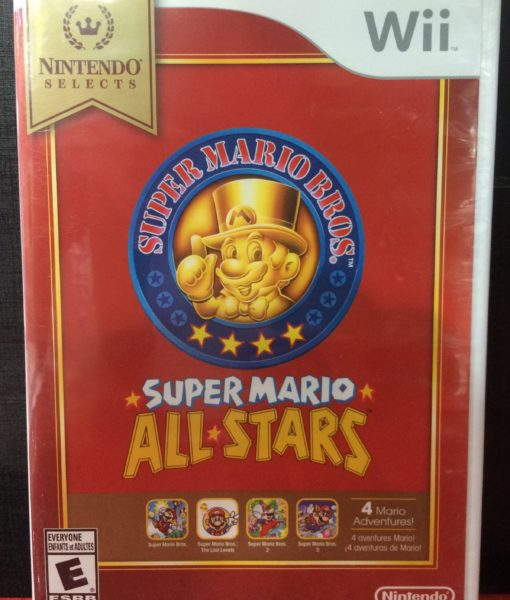 Wii Super Mario All Star game