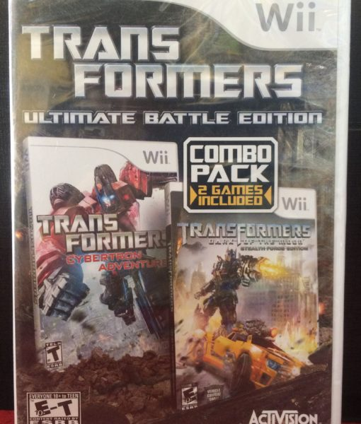 Wii Transformers Dark Moon Cybertron game