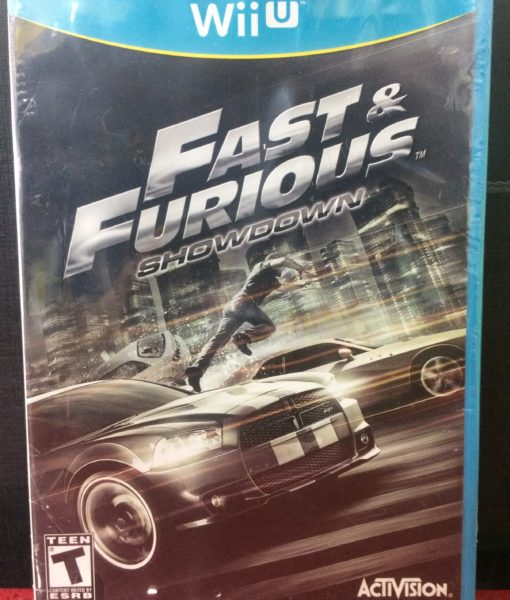 Wii U Fast and Furious ShowDown game
