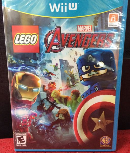 Wii U LEGO Marvel AVENGERS game