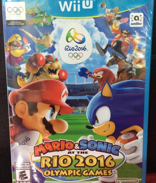 Wii U Mario Sonic RIO 2016 Olympic game