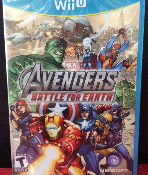 Wii U Marvel Avenger Battle for Earth game
