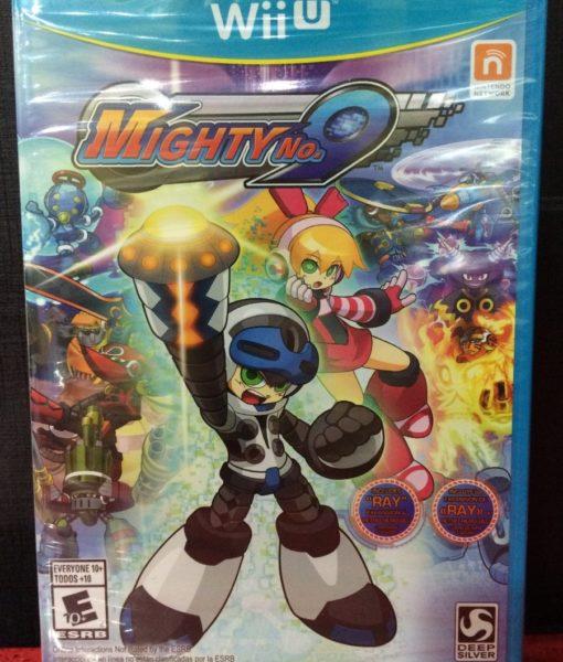 Wii U Mighty No.9 game