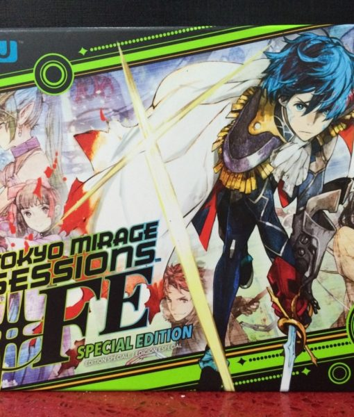 Wii U Tokyo Mirage Session FE Especial Edition game