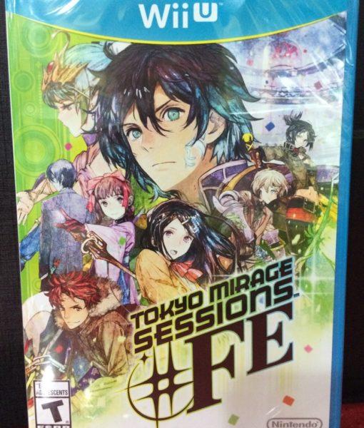 Wii U Tokyo Mirage Session FE game