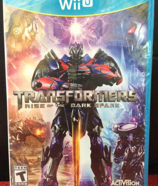 Wii U Transformers Rise of the Dark Spark game