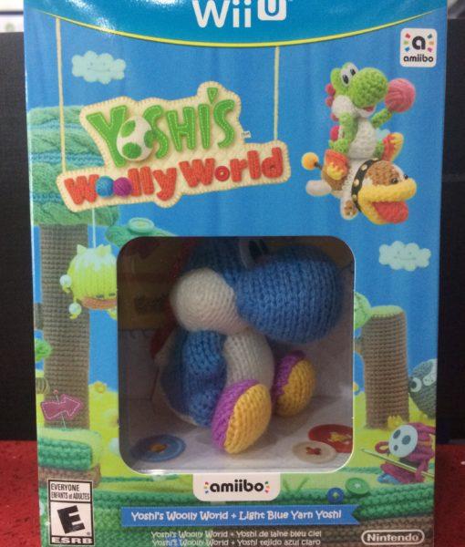 Wii U Yoshis Woolly World con Amiibo game _2
