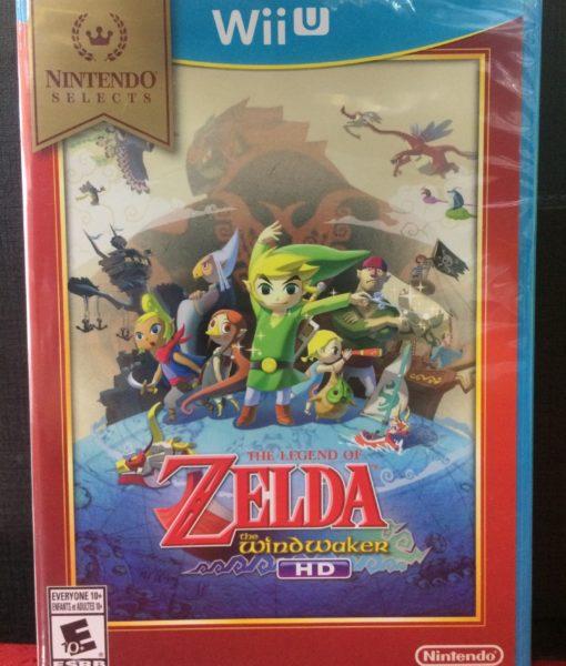 Wii U Zelda Windwaker HD game