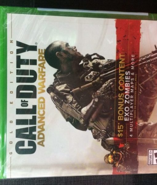 Xone Call of Duty Advanced Warfare GOLD game