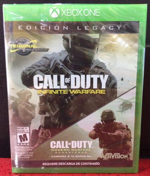 Xone Call of Duty Infinite Warfare Legacy Edition game
