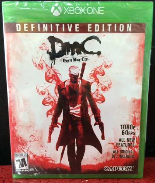 Xone Devil May Cry Definitive game