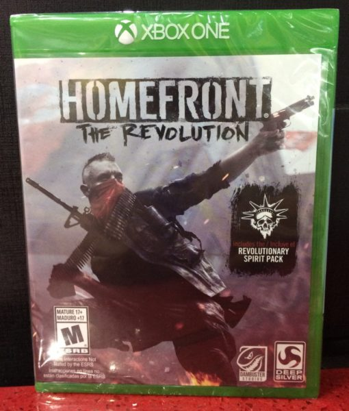 Xone Homefront The Revolution game