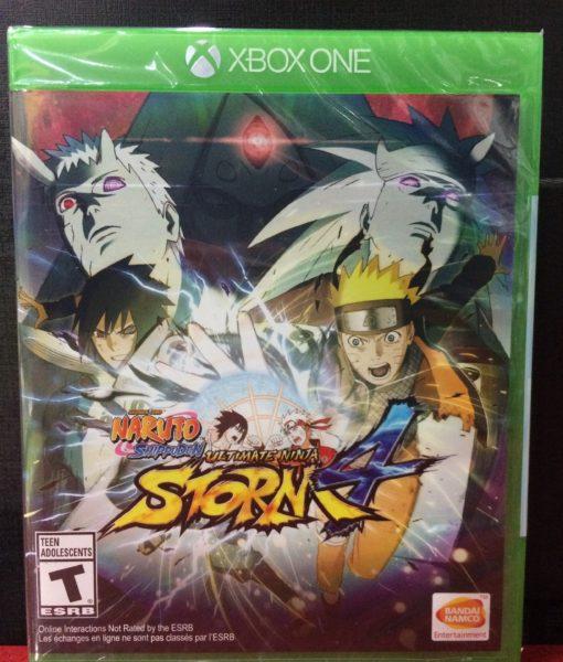 Xone Naruto Ninja Storm 4 game