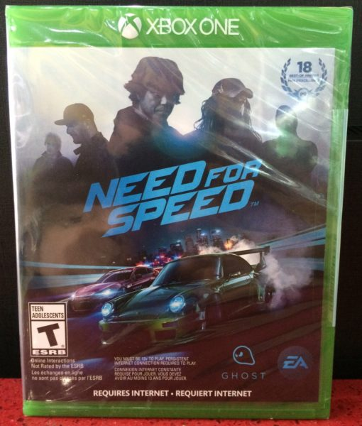 Xone Need for Speed Online game