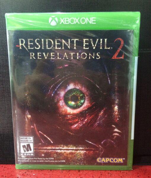 Xone Resident Evil Revelation 2 game