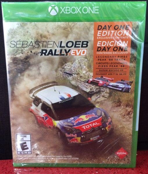 Xone Sebastien Loeb Rally Evo game