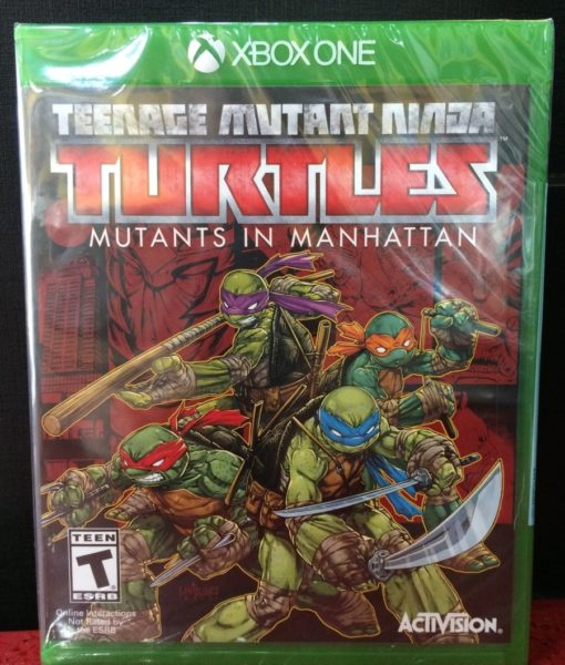 Xone Turtle Mutans in Manhattan game