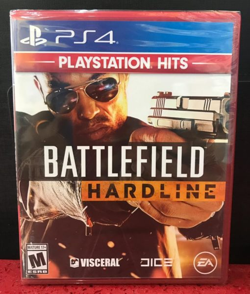 PS4 BattleField Hardline game