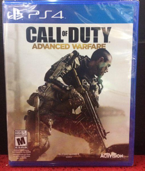 PS4 Call Of Duty Advanced Warfare game