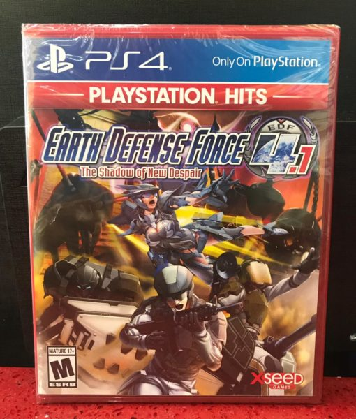 PS4 Earth Defense Force 4.1 Shadow of New Despair game
