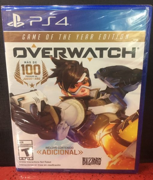 PS4 OverWatch Game Year